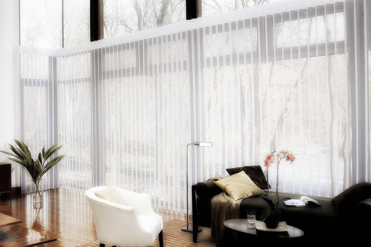 Hunter Douglas Luminette Privacy Sheers Cleaning Service